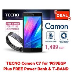 TECNO Camon C7  5.0  3G Dual SIM Mobile Phone  Sandstone Black  5200mAh Power Bank. . FREE T-BAND FOR FIRST 100 CUSTOMERS. JUMIA DELIVERS TO YOUR DOORSTEP ORDER NOW FROM @jumiaegypt! . ORDER Now: http://ift.tt/2bM1Iko . #caironightlife #thisisegypt #shopping #fashion #shoppingonline #shoppingday #style #photooftheday #cute #beautiful #girl #love #me #shoes #dress #instagood #pretty #beauty #dubai #eyes #girls #hair #instafashion #model #nails #outfit #purse #styles #stylish #jumia