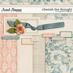 Cherish the Thought by Sugarplum Paperie