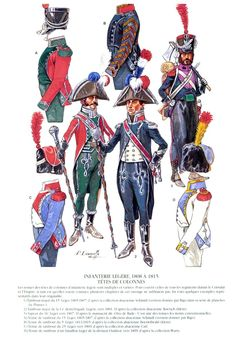 SOLDIERS- Courcelle: Grenadiers:,French Light Infantry, Head of Column 1808-1815…
