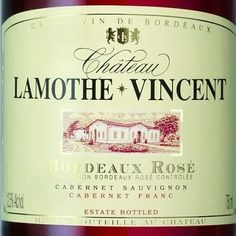 Pomegranate vivid color. Bouquet in which blend berries (blackcurrant, raspberry) and citrus. Floral notes. Bela smoothness, tasty red fruit and generous. Aftertaste packed with sweet flavors of ripe fruit. http://usa.planet-bordeaux.com/bordeaux-in-the-u-s-a/chateau-profiles/chateau-lamothe-vincent/