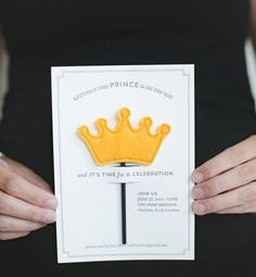 Baby Shower Ideas: Little Prince Baby Shower Invitations and Day-of Party Details by Atheneum Creative via Oh So Beautiful Paper Baby Shower Parties, Baby Shower Themes, Baby Boy Shower, Shower Ideas, Little Prince Party, The Little Prince, Prince Birthday Party, Baby Birthday, Tarjetas Baby Shower Niña