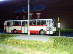 Model autobusu KAROSA B-931 DPMB Brno v H0 – ZAVAVOV
