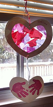 Day Gift - Felt Heart - Find Fun Art Projects to Do at Home ...