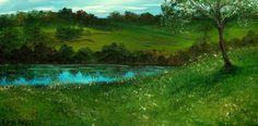 My Side of The Hill by artbylisaaerts on Etsy, $100.00