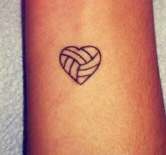 Un bonito #tatto #volleyball :) #pinterest
