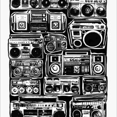 196 best boomboxes images on pinterest boombox hiphop and music