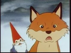 It just occurred to me that David the Gnome had Swift the Fox. Might have to incorporate a gnome or two in the nursery, if Jacob will let me.