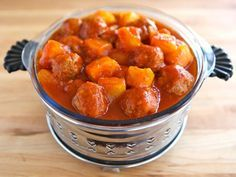 Passover Sweet and Sour Meatballs - Recipe for sweet and sour meatballs with pineapple. Kosher for Passover, Meat, appetizer, easy, side dish, entree.
