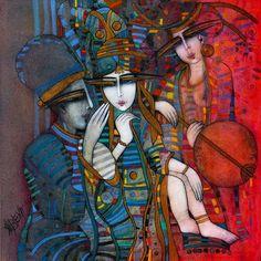 Artist is Albena Vatcheva