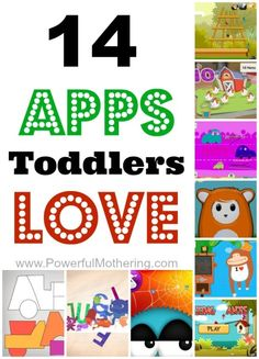 14 Apps for Toddlers + iPad tips to keep it safe for kids