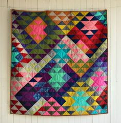Modern Prism Quilt A Collection of the Best Quilt Blogs. Get the Top Stories on Quilt in your inbox
