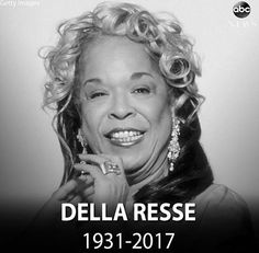 """Rest In Peace ❤️ to #Legendary #Singer #Actress #DellaReese who starred in """"Touched by an Angel,"""" has died at age 86, My condolences to her family and friends. Della Reese was an #American #nightclub #jazz #gospel #popsinger #film #television #actress one-time #talkshowhostess #ordainedminister whose #career spanned #sixdecades #rip #touchedbyanangel #movie #Hollywoodstarwalloffame #walkoffame #starwalkoffame #harlemnights"""