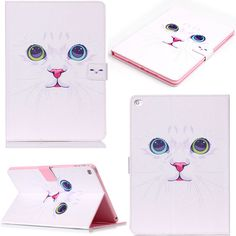 New For Apple iPad Air / iPad 5(2013) cover painting Pattern Flip PU Leather Magnetic Case For ipad 5 Stand tablet Accessories