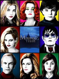 Dark Shadows - Didn't see the movie but watched the soap opera. Tim Burton Characters, Tim Burton Films, Dark Shadows Movie, Superman Movies, Great Movies, Movies Free, Classic Films, Johnny Depp, Books