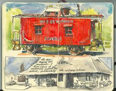 caboose | Flickr - Photo Sharing!