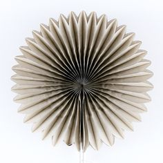 "Tissue Paper Medallion - Warm Gray - 12"" at The TomKat Studio"