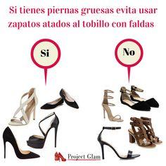 Zapatos para tipo de piernas