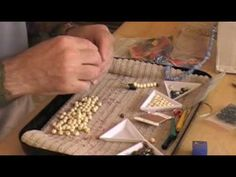 How to make Tibetan Prayer Beads, known as a mala. Advice on how to use the mala is given, as well as step-by-step guidance in making them. Buddha Jewelry, Spiritual Jewelry, Yoga Jewelry, Tibetan Prayer Beads, Meditation, Paper Beads, Craft Tutorials, Namaste, Making Ideas