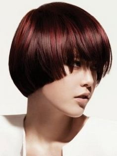 Bowl cut bob. THE BOB COMES IN MANY DIFFERENT LEGTHS AND IS THE EASIEST CUT TO CARE FOR. NO MATTER WHAT AGE. OR WHAT TYPE HAIR U HAVE. THICK WAVY THIN WHATEVER THIS CUT WORKS WITHOUT U WORKING TO FIX IT. JUST GIVE HEAD A SHAKE RUN FINGERS THROUGH OR JUST COMB AND BRUSH AND GO