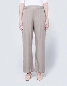 Slip Pant in Warm Grey