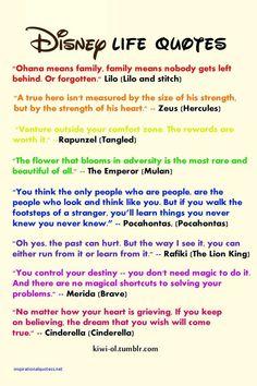 Disney Inspired Quotes
