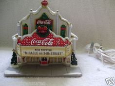 Hawthorne Village Coca Cola Christmas House Theater Miracle On 34th Street COA