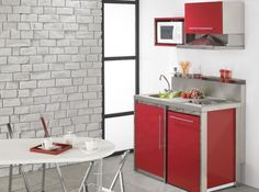 kitchenette moderna