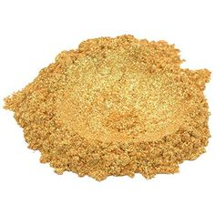 24 Karat Gold / Yellow Luxury Mica Colorant Pigment Powder Cosmetic Grade Glitter Eyeshadow Effects for Soap Candle Nail Polish 1 oz