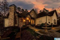 This fabulous French Provincial home is tucked away on a gorgeous private lot in the Rosemont subdivision of Vestavia Hills. It has 6 bedrooms, 4 full baths, 2 half baths and a main level 3 car garage. Custom built with careful attention to detail, it has every amenity you can expect. The stone faade is complemented by landscaped gardens, planting beds and an exquisite fountain set in a quiet garden welcoming visitors to the two-story covered entry. The interior main level features large…