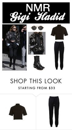 """""""Outfit #386"""" by nmr135 ❤ liked on Polyvore featuring Chanel, Sandro, Barbara Bui, StreetStyle, paris, fashionWeek, gigihadid and nmr"""