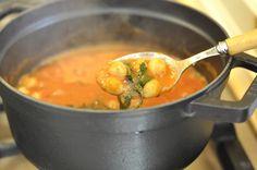 Нут в томатном соусе ПОСТ