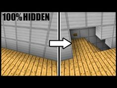 Minecraft: Hidden Pop-Out Staircase! Minecraft Secrets, Minecraft Plans, Minecraft City, Amazing Minecraft, Minecraft Construction, Minecraft Tutorial, Minecraft Blueprints, Minecraft Crafts, Minecraft Redstone House