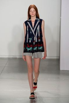 Suno Spring 2014 Runway Show | NY Fashion Week