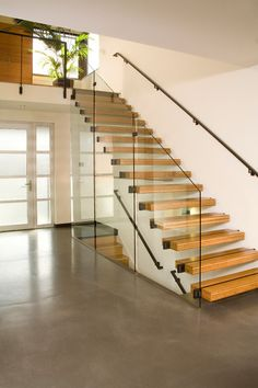 23 Unique Painted Staircase Ideas for Your Perfect Home Railing Design, Staircase Design, Staircase Ideas, Staircase Manufacturers, Stairway Lighting, Seattle, Painted Staircases, Glass Stairs, Staircase Remodel
