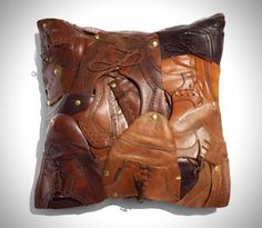 Baptiste Viry - Old shoes pillow