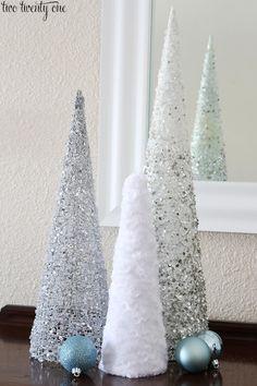 Pas d'espace pour un gros sapin de Noël? Bricolez un magnifique petit sapin! 12 MODÈLES À VOIR! - Bricolages - Trucs et Bricolages