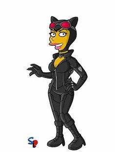 BATCAST: Batman: Arkham City | Heróis e vilões viram personagens de Os Simpsons
