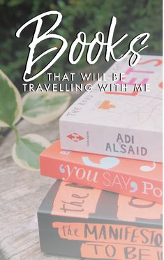 The 3 Books That I'm Taking on Holiday This Year... Let's Get Lost by Adi Alsaid, You Say Potato by David and Ben Crystal, The Manifesto on how to be Interesting by Holly Bourne. http://www.theroseglow.co.uk/2018/06/the-books-that-will-be-travelling-with.html