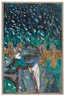The Soft ashes of Berlin falling on Hans Fallada's Nose, 2010, Billy Childish