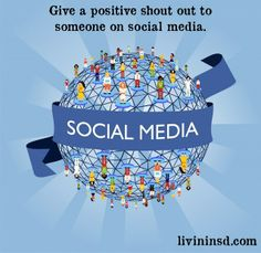 Give a positive shout out to someone in social media. Christmas 365: Day 83 - Livin in San Diego #randomactsofkindness  #payitforward