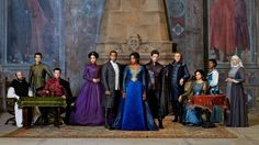 """The cast of """"Still Star-Crossed"""" on ABC."""
