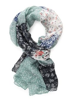 Rustic Patchwork Scarf | FOREVER21 #Accessories