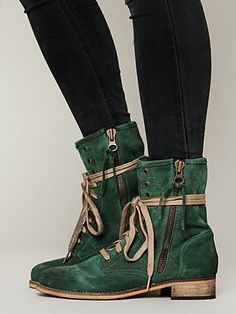 Free People, Greyson Lace Up Boot