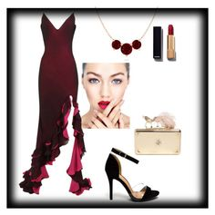 """""""Noche de pasion ♡"""" by ahumadarosy ❤ liked on Polyvore featuring Chanel, Alexander McQueen, women's clothing, women's fashion, women, female, woman, misses and juniors"""