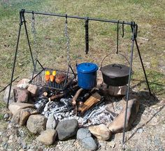 campfire cooking - Google Search