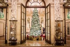 The Plaza Hotel Palm Court NYC