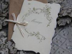 Die FEENSCHEUNE - Wedding card - Hochzeits Karte - Nostalgie