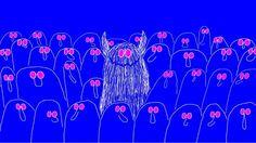 """Bei """"Slaves of the Rave"""" von William Garratt treffen verschiedenen Musikstile auf ein animiertes Konzert-Publikum und je nach Style geht ..."""