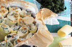 Paccheri ricotta e spinaci gratinati con besciamella
