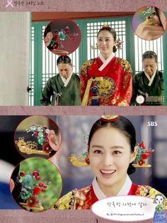 Korean traditional clothes <Hanbok> royal concubine. ☺  ✿